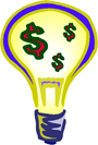 lightbulb money